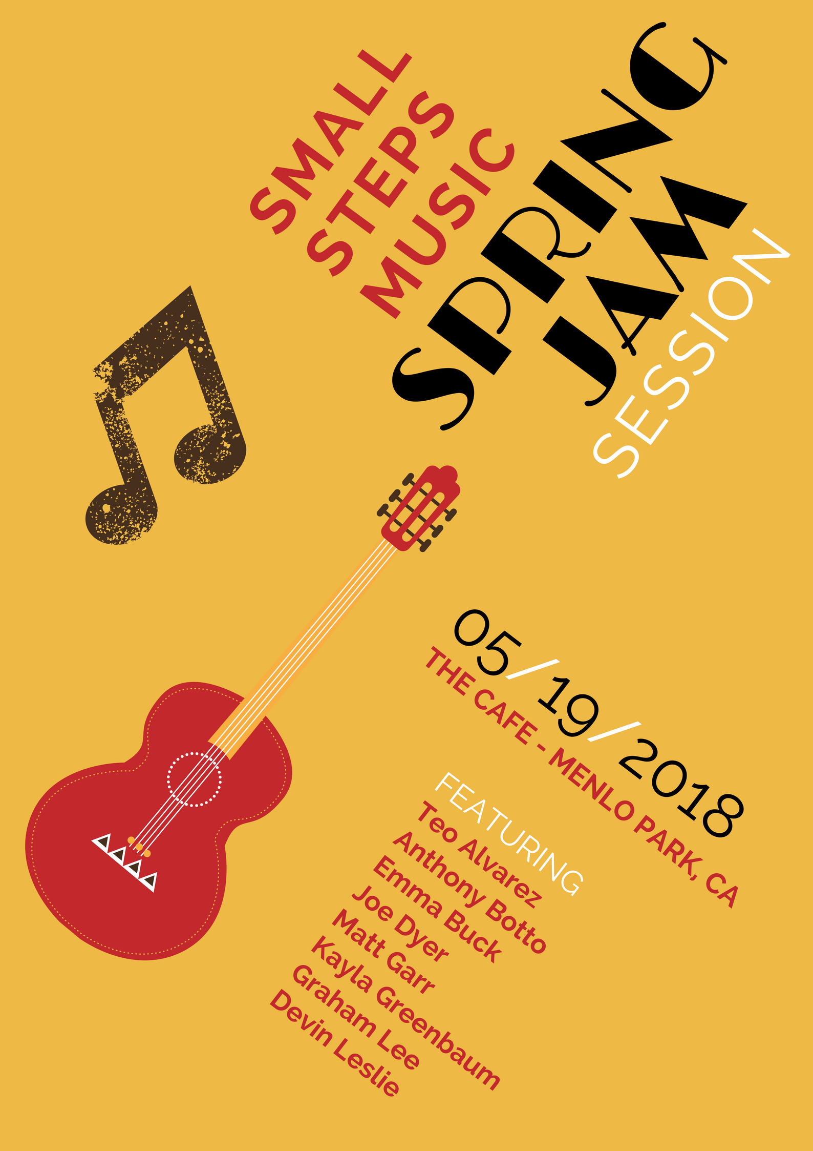Small Steps Music Spring Jam Session 2018